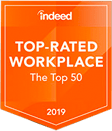 Bahama Breeze award – Indeed Top Rated WorkPlace 2019